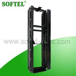 """[SOFTEL] metal 42U open rack 19"""" open rack convenient for cable management"""