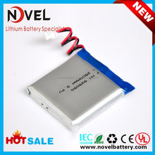 Small rechargeable 3.7V li-po battery 2600mAh 925050