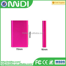 Top Grade Professional Mobile Emergency Battery mobile phone emergency portable charger 10000mah