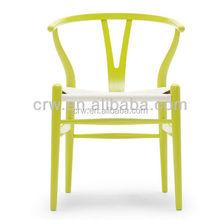 RCH-4036-13 bearing heavy weight bali wooden hand wishbone chair