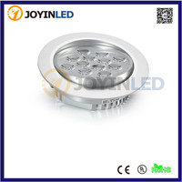 Dimmable round shape 12W high power led recessed downlight