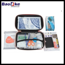 38pieces first aid kit tour, hard case EVA first aid bag with emergency essentials