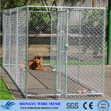 Factory Direct Sale New design unique galvanized Steel cheap Chain Link Dog Run Kennels / Pet Containment