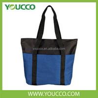 Promotional Zipper Tote Bag Custom Durable Shopping Tote Bag
