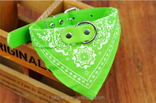 dog and cat cotton triangle leash
