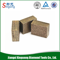 China Gangs aw Marble Gang saw Diamond Segment Sandstone marble diamond cutting blade