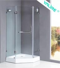2015 new design 1 set 3 sided shower enclosures