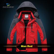 Calefacción eléctrica muy cálido cortavientos e impermeable de invierno chaqueta de montar