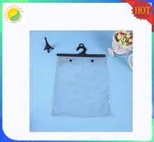 Transparent PVC hanger bag for socks