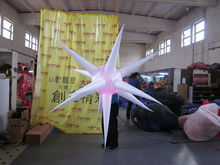 new brand popular party/club/stage inflatable decoration star
