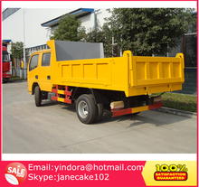 Dongfeng 4x4 6 wheel capacity 5cbm mini dump trucks for sale