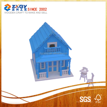 Eco-friendly FSC Hanging Wooden Bird Cage,Wooden Bird House