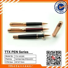 Durable in use, newest business gift ball advertisment metal pen, advertisment metal pen for promotion