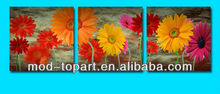 decorative flower group oil painting