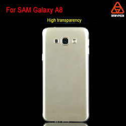 High clear transparent case for Samsung galaxy A8 whole pc cover ,PC hard case for Samsung galaxy A8 mobile phone case