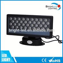 Manufacturer RGB dmx512 led wall light 36W LED wall washer light IP65 BV CE and RoHS listed