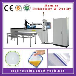 Food container silicone gasket making machinery