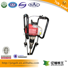 TIEGONG NZMZ-20 internal combustion wooden tie electric rail drilling for sale