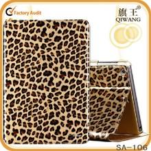 promotional Leopard grain case for ipad mini 2 3 laptop protective cases wholesale