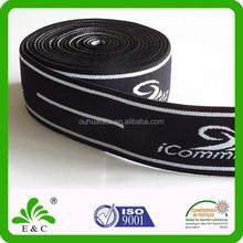 Custom Pattern Jacquard Webbing Wide Elastic Rubber Bands