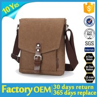 china factory supplier 2015 mens leather messenger bag