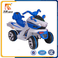 Rechargeable battery motorcycle for kids 6V electric 4 wheel kids motorcycles for children for sale