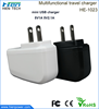Wholesale all phones chargers USB charger power charger adapter custom dual USB charger