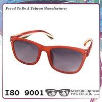 2015 new model stipes pattern wayfarer sunglasses with uv400 sunglasses lens
