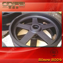 Casted high quality cable pulley wheels