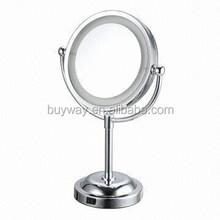 8 inch venetian metal mirrored furniture