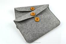 Soft felt pouch for iPad mini anti-shock case