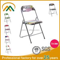 wholesale PVC metal folding chair dining chair KP-C9802