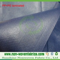 waterproof nonwoven fabric,PE+PP film, laminated pp non woven fabric roll