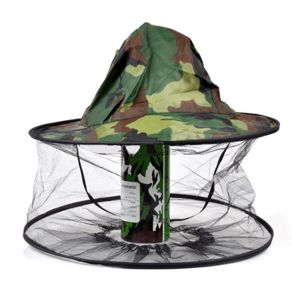 противомоскитная шляпа для рыбалки