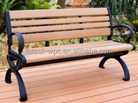 modern outdoor wood bench pine wood indoor bench wind resistant wood cutting bench