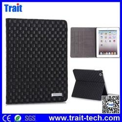 High Quality Flip Stand PC PU Leather Case for iPad 4 / iPad 3 New iPad/ iPad 2
