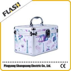 Promotional Fresh Color Cosmetic Set Storage Box/ Makeup Case