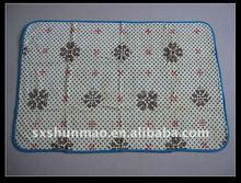 fiocco di neve e piccolo punto rotolo stampato morbido di corallo del panno morbido del bambino tiro coperta