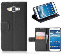 New Leather Wallet Case for Samsung Galaxy A3/A300F, Folio Business Style for Samsung A3 case, Stand Case for A3 case