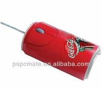 cola can shape mouse with full color printing