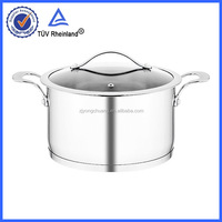 18/10 S/S 304 MATERIAL stretched induction apple cookware pot