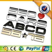 3D Car Logo With Names,Custom 3D Car Emblem,ABS Chrome Car Badge DIY