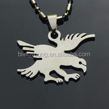 Fashion stainless steel eagle charm wholesale