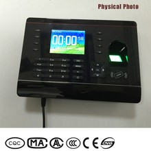 Popular 2.8 inch LCD TFT color screen intelligent time recorder punch card machinehigh resolution business card scanner