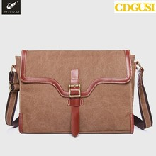 New men's travel bags 2015 Designer Brand Messenger Canvas Bag Leather Cross Body for Casual Men's Shoulder handbags