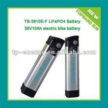 TB-3610E-F battery lifepo4 36v 10Ah+BMS with Aluminum case