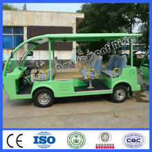 2015 new cheap electric cars 8 seats engine motor tourist car for sale