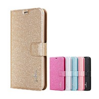 Slik grain PU flip leather case for samsung galaxy grand prime,for samsung g530 case