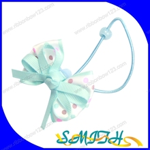MSD Cute blue ribbon bow hairpin/hair accesories for kids