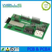 Low cost PCB assembly samples assembly by hand, volume production by machine